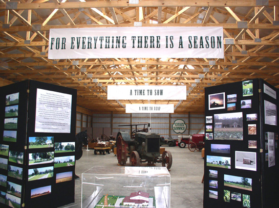 Inside of the Farm Museum